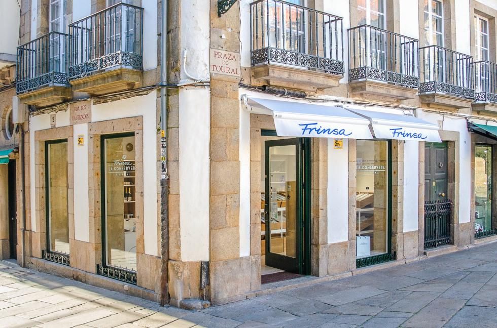 "Frinsa opens a new store ""La Conservera"" in Santiago de Compostela"